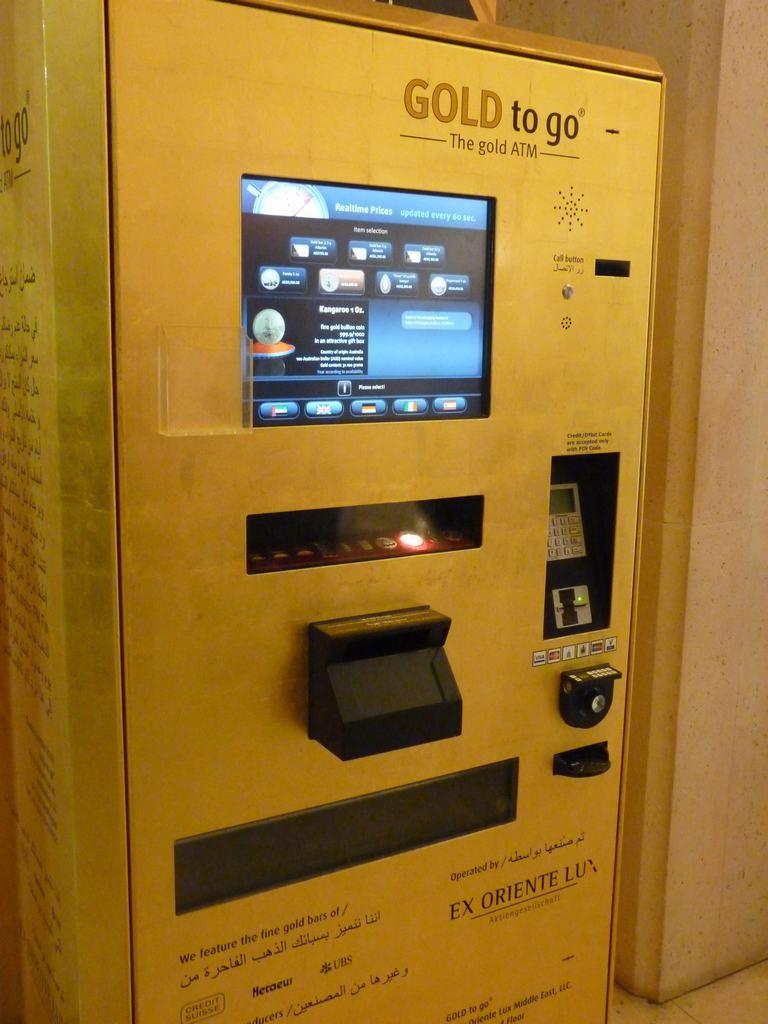 Maquina de hacer oro