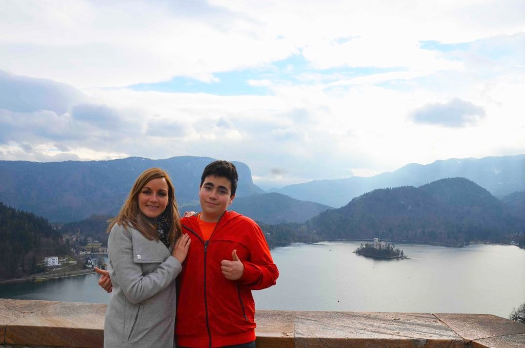 El lago de Bled