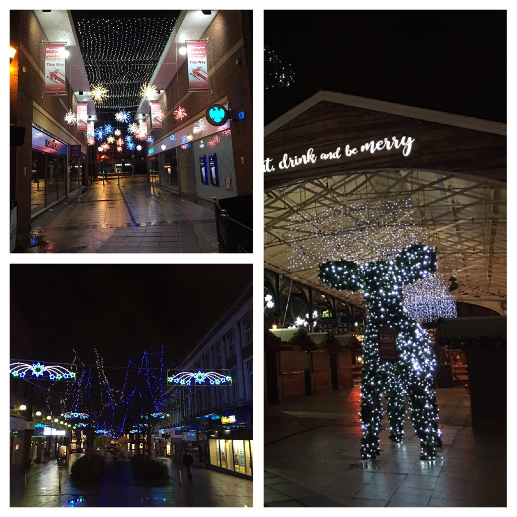 Navidad en Warrington Reino Unido
