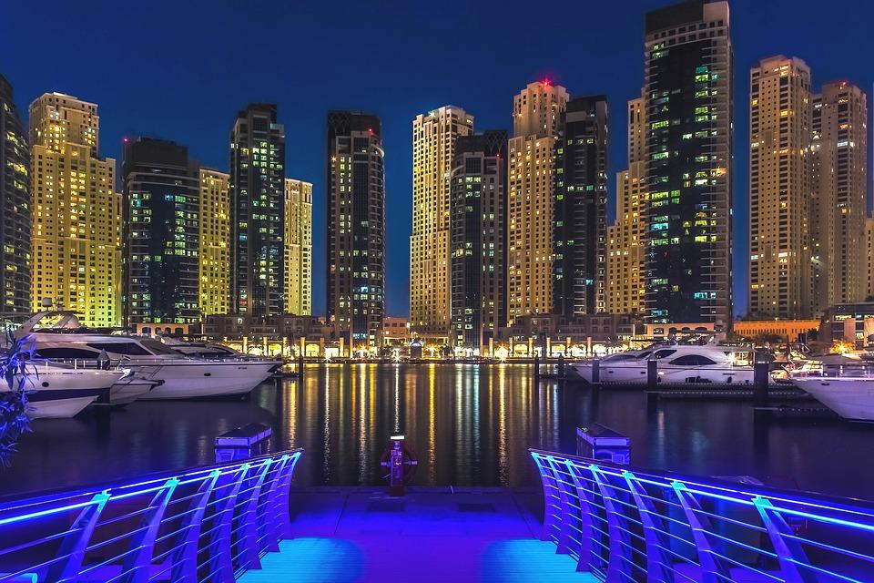 Foto de Dubái de Noche