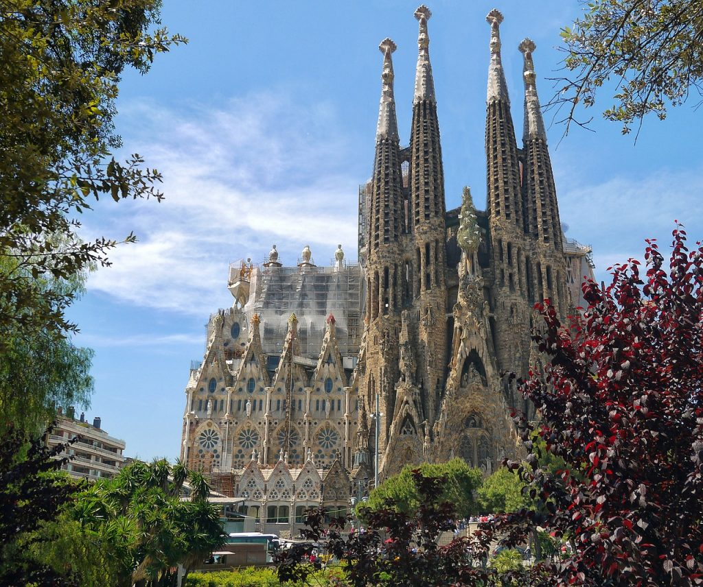 Sagrada Familia, modernismo catalan