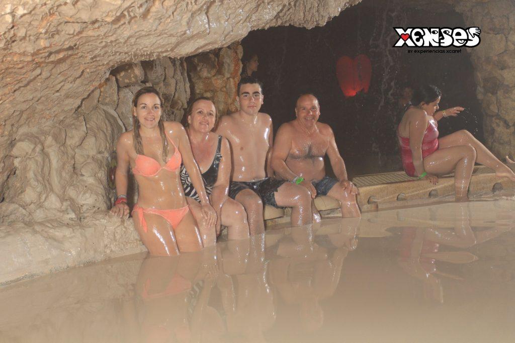 Baño de Barro parque Xensess