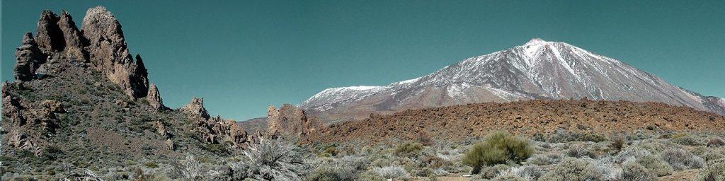 Vista panorámica del Teide