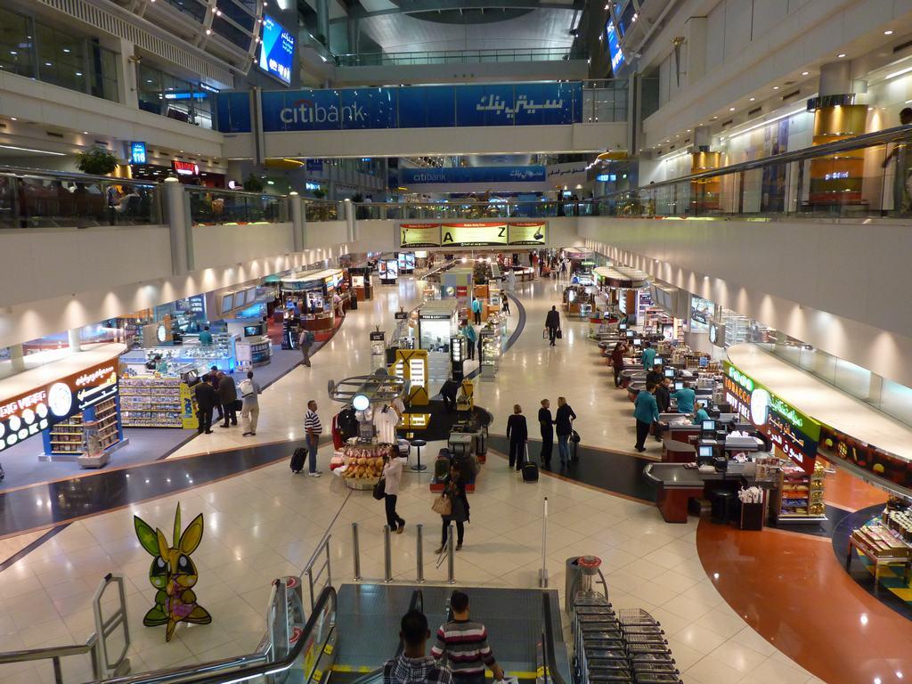Aeropuerto Dubai interior