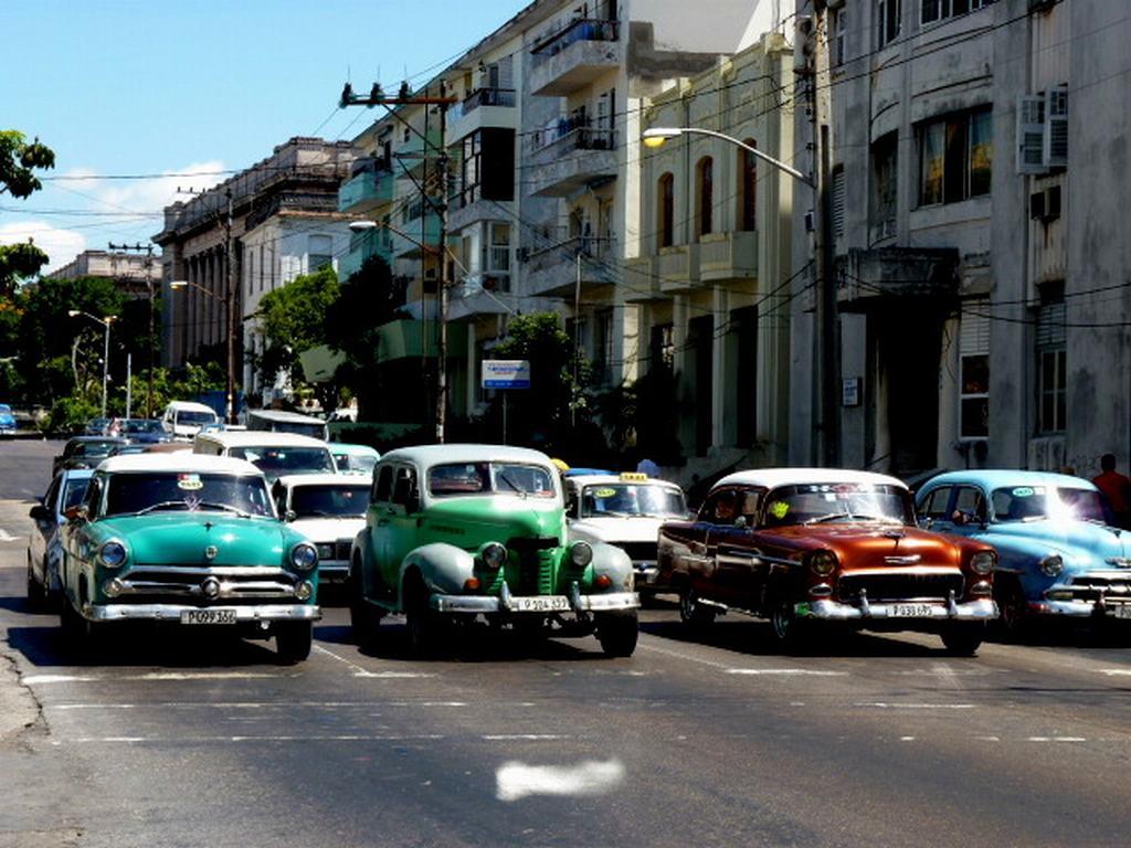 coches tipicos de la habana
