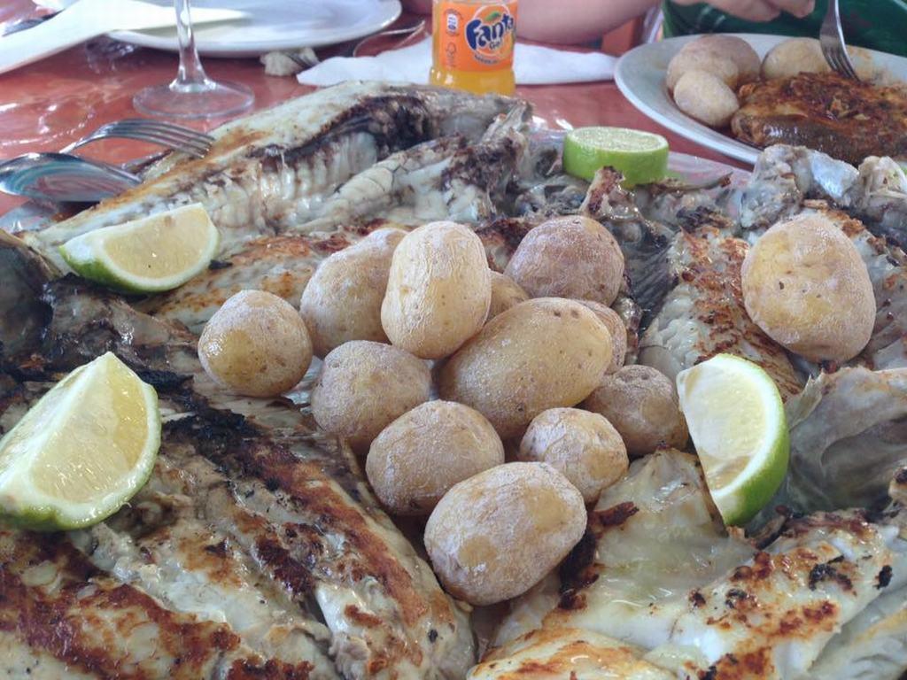 Platos tipico de Lanzarote la vieja