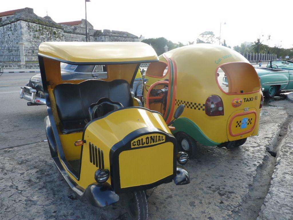Taxis para turista de Cuba