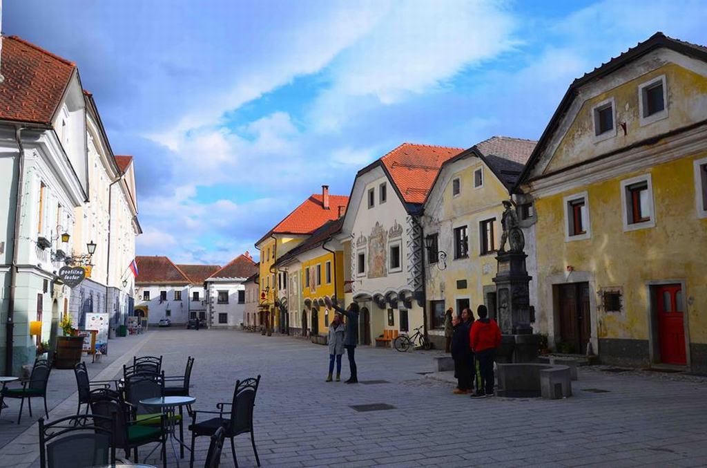 Pueblo medieval Radovljica Eslovenia