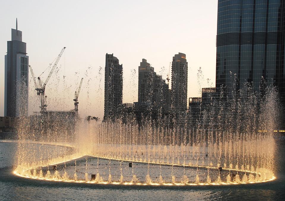 Fuente de Dubái