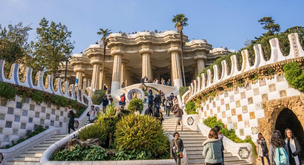 Parque Güell, Barcelona, Modernismo Catalán