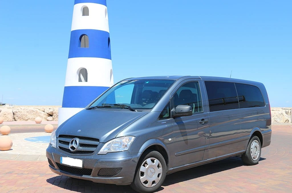 Taxi grande Benidorm a Alicante