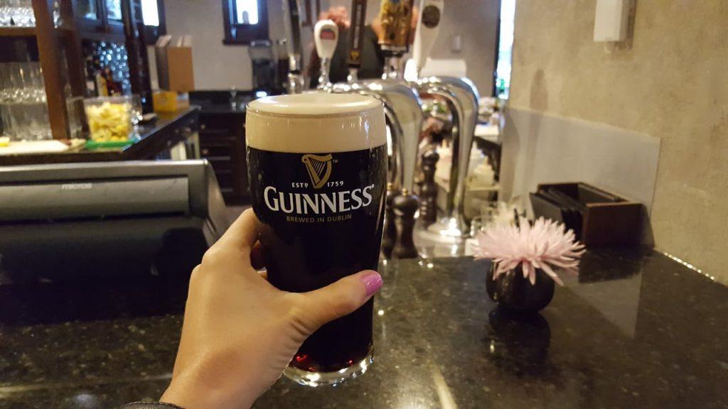 bar 360 fábrica Guinness en Dublín